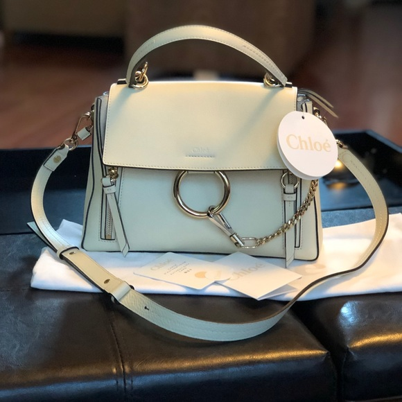 2fa835f1e6f Chloe Bags | Faye Day Small Pebbled Ring Bag | Poshmark